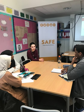 Countering extremism with students in North London
