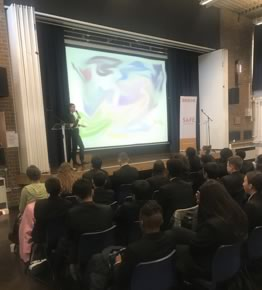 Delivering our counter-extremism workshops across London